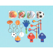 Sports Themed Party Favours Value Pack Pk 48