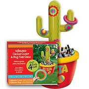 Inflatable Cactus Drink Cooler & Game (1.3m) Pk 1