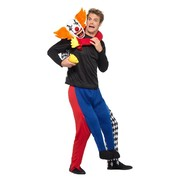Adult Kidnap Clown Piggy Back Costume (One Size) Pk 1