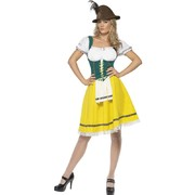 Ladies Oktoberfest Dress Costume Medium Pk 1(Dress Only)