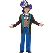 Mad Hatter Child Costume (Large, 10-12 Years) Pk 1