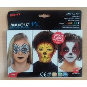 Animals FX Make Up Kit Pk 1