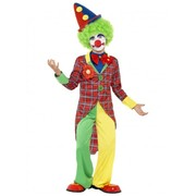 Clown Child Costume (Medium, 7-9 Years) Pk 1