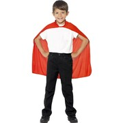 Child Red Mid-Length Cape Pk 1 (CAPE ONLY)