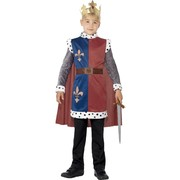 King Arthur Child Costume (Small, 4-6 Years) Pk 1