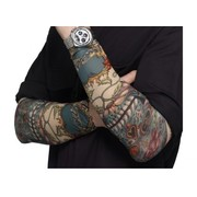 Halloween Day of Dead Tattoo Sleeves (1 PAIR)