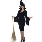Halloween Curves Witch Adult Costume (3X Large, 28-30)