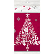 Christmas Sparkle Tree Tablecover (1.37 x 2.13m) Pk 1