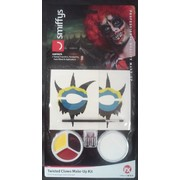 Twisted Clown Make Up Kit Pk 1