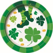 St. Patrick's Day 7in. Paper Plates Pk 8