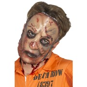 Adult Halloween Zombie Flesh Mask Pk 1