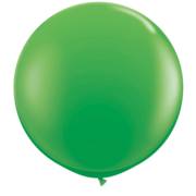 Spring Green 36in/90cm Standard Latex Balloons Pk 2