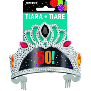 50 Birthday Cheer Tiara Pk 1