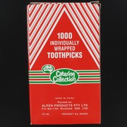 Toothpicks - Individually Wrapped Pk1000