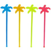 Palm Tree Swizzle Sticks - Assorted Pk20