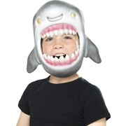 Child Shark Face Mask Pk 1