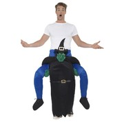 Adult Witch Piggy Back Costume (One Size) Pk 1