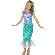 Child Deluxe Mermaid Costume (Small, 4-6 Years)