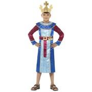 Child Christmas Nativity King Melchior Costume (Large, 10-12 Years)