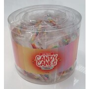 Mini Christmas Rainbow Tutti Frutti Candy Canes (4g) Pk Approx. 100