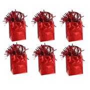Prismatic Red Giftbag Balloon Weight Pk 6