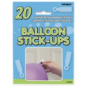 Balloon Stick-ups Pk 20
