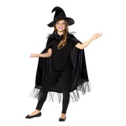 Child Sparkly Witch Costume Kit (Cloak & Hat) Pk 1