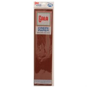Crepe Paper Gala 240x50cm Dark Brown Pk1