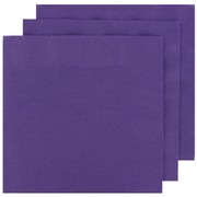 Purple Party Napkins - Cocktail 2Ply Pk50