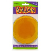 Balloon Foil 18in Gold Circle Pk1