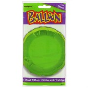 Balloon Foil 18in Lime Circle Pk1