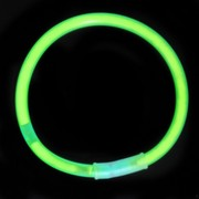 Party Glow Bracelet - Green 8in Pk1