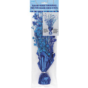 Glitz Blue Stars Centrepiece Weight and Spray Pk 1