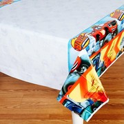 Blaze and the Monster Machines Plastic Tablecover (243cm x 137cm) Pk 1