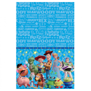 Toy Story 4 Plastic Tablecover (137cm x 243cm) Pk 1