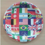 International Flags Paper Plates (7in.) Pk 8