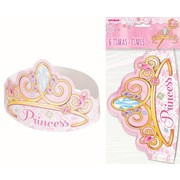 Pink Princess Tiara Party Favours Pk 6
