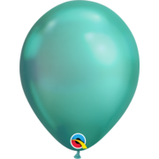 Chrome Green Latex Balloons (11in. /30cm) Pk 25