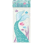Mermaid Cello Loot Bags Pk 20