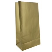 Bags Party Gold Paper Pk10