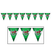 Melbourne Cup Horse Racing Pennant Flag Banner (3.6m) Pk 1
