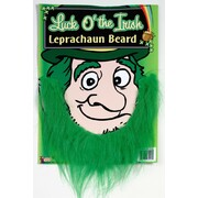 St. Patrick's Day Green Leprechaun Beard Pk 1