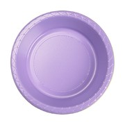 Lilac 7in. Plastic Dessert Bowls Pk 20
