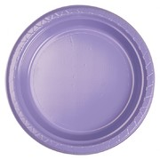 Lilac 9in. Plastic Dinner Plates Pk 20