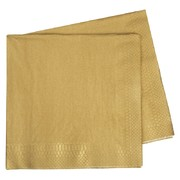 Metallic Gold 2 Ply Dinner Napkins Pk 40
