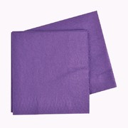 Purple 2 Ply Dinner Napkins Pk 40