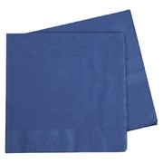 Dark Blue 2 Ply Dinner Napkins Pk 40