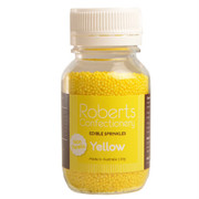 Edible Yellow Sprinkles (100s and 1000s) 120g
