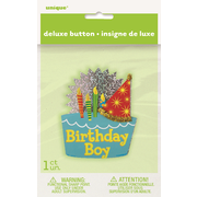 Birthday Boy 3D Badge Pk 1