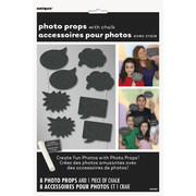 Chalkboard Photo Prop Decorations with Chalk Pk 8